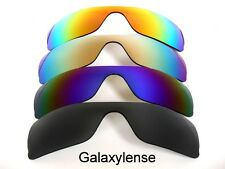 Galaxy Replacement Lenses for Oakley Batwolf Black&Blue&Gold&Red Polarized 4PAIR