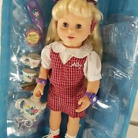 Playmates Amazing Ally Doll Lets Play School Outfit Tea Set In Box Many Access