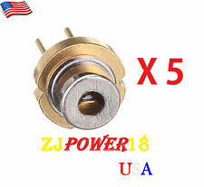5 Pieces 808nm 300mW 5.6mm TO18 High Power Burning Infrared IR Red Laser Diode