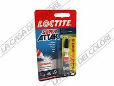 LOCTITE - SUPER ATTAK - 3g + 1g - COLLA ISTANTANEA