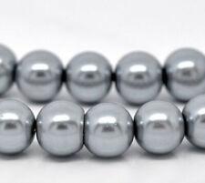 Cuentas para joyería artesanal, perla, 6 mm