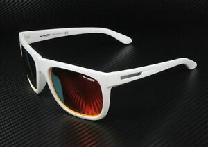 ARNETTE AN4143 22506Q Fire Drill Fuzzy White Red 59 mm Men's Sunglasses