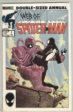 Web of Spider-Man: Annual #1 VG+ 1985