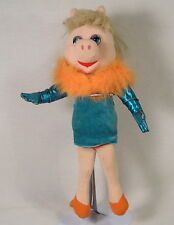 Muppets Miss Piggy Plush Doll by Nanco, Jim Henson Kermit Frog Girlfriend