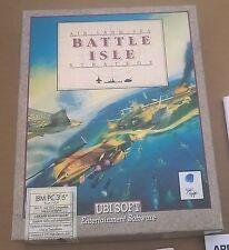 "Battle Isle by UBI Soft 3.5"" Disks IBM & Compatibles Complete Big Box Ultra Rare"
