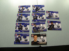 WBS Penguins 10-11 Jersey Card Lot Bortuzzo Joe Vitale Zach Sill Pittsburgh Nice