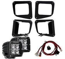 RIGID LED Fog Light Kit w/ D-Series PRO LED Lights for 14-17 Toyota Tundra 46520