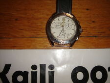 Breitling Shark A53605 Chronograph Stainless Steel  White Used No Box or Paper C
