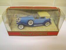 Matchbox Models of Yesteryear Duesenberg Model 'J' Y-4 1930 MIB