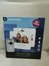 "Smartwares DIC-22222 Videotürsprechanlage 2-Familien mit 7"" LCD-Monitor"