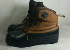 Northwest Territory Duck Winter Insulated Lace up Waterproof Mens  boys 8 boots