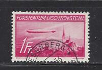 LIECHTENSTEIN - C15-C16 - USED - 1936 - HINDENBURG & GRAF ZEPPELIN