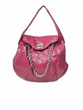 MARC BY MARC JACOBS Patent Leather Posh Turnlock Dot Shoulder Handbag