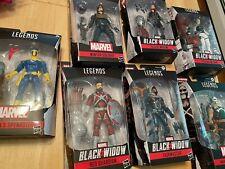 Complete CRIMSON DYNAMO BAF set from Marvel Legends! Black Widow!