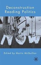 New, Deconstruction Reading Politics, , Book