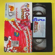 film VHS cartonata ESPLORANDO IL CORPO UMANO Lo scheletro 30 minuti (F47) no dvd