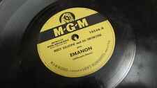 DIZZY GILLESPIE MGM 78 RPM RECORD 10556 EMANON / THINGS TO COME