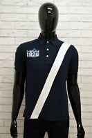 Maglia Polo Uomo S.S.C. NAPOLI OFFICIAL Shirt Man Taglia M Cotone Manica Corta