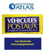 Atlas postal vehicles-fascicles accompanying (optionally)