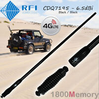 RFI CDQ7195 Multi-Band 6.5dBi Antenna Black Q-Fit Removable Whip 3G 4G LTE 4GX