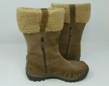 Timberland Size 6 M Brown Leather Calf Waterproof Winter Boots S/N 18689
