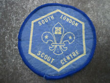South London Scout Centre Cloth Patch Badge Boy Scouts Scouting (L7S)