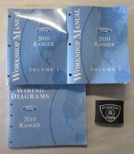 2010 FORD RANGER SERVICE SHOP REPAIR MANUAL & WIRING DIAGRAMS SET