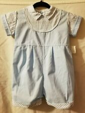 Vintage Baby Boy Charming Original Brand Retired new All in One Shorts 6-9m