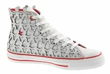 CONVERSE PEOPLE 1HUND+ARTISTS AS CT HI MEN SHOES WHITE/RED A03487 SZ 11.5 NEW