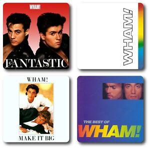 Wham! 4 Piece Coaster Sets