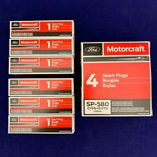 Set of 6: OEM Ford Motorcraft Iridium Spark Plugs SP-534 SP-580 CYFS-12-YT4