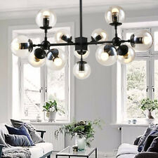 Large Chandelier Lighting Kitchen Lamp Black Pendant Light Modern Ceiling Lights