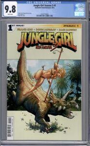 Jungle Girl Season 3 #1  Frank Cho Cover  Dynamite Comics   1st Print CGC 9.8