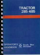 Leyland 285/485 Tractor Drivers Instruction Book
