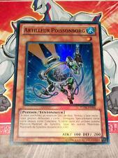Carte YU GI OH ARTILLEUR POISSONBORG TU06-FR004