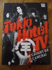 2 DVD ** TOKIO HOTEL -CAUGHT ON CAMERA **DELUXE EDITION + POSTER  Livret concert