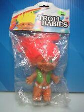 """TROLL HIPPIE - 4"""" Troll Babies Troll Dolls - NEW IN PACKAGE - Very Rare"""