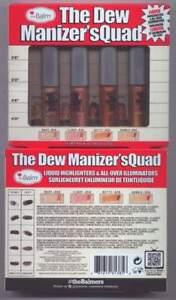 theBalm Dew Manizer's Quad Set-Liquid Highlighter's-NEW!! 100% Authentic!!!