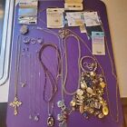 Vintage+JUNK+DRAWER+Of+RINGS%2C+Necklaces+And+bunch+of+stuff%21%21%21+50-50+good+and+bad
