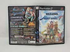 Wild Arms: Alter Code F - PlayStation 2 PS2) Complete CIB w/ Bonus Anime DVD