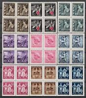 3rd Reich - Nazi Occupation of BOHEMIA & MORAVIA ..... 9 MNH  Blocks!