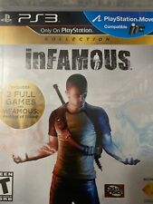PS3 inFamous Collection (Sony PlayStation 3, 2012) Includes: 2 Full Games