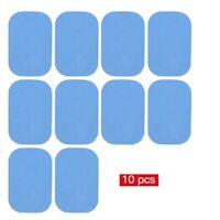 GEL PATCH PAD POUR APPAREIL ELECTRO STIMULATION MUSCULATIO 10 PCS