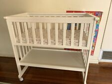 Baby Cot 3 in 1 Convertible to Toddler Bed Sliding With Mattress