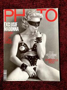MADONNA PHOTO MAGAZINE SEX BOOK CENTERFOLD PROMO SPREAD ORIGINAL FRENCH EROTICA