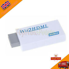 1x Wii Input to HDMI 1080p HD Audio Output Converter Adapter Cable 3.5mm Jack