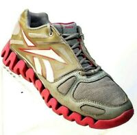 Reebok Zig Tech Womens Size 6 Running Walking Athletic Shoes Gray #G27