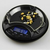 Ashtray Pocket Scale Mini Digital LCD Electronic Measure Gold Weighing Balss