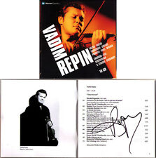 Vadim REPIN Signed WARNER YEAR 10CD Boris Berezovsky Kent Nagano Yehudi Menuhin