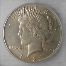 MS 63+, 1926 Peace Silver Dollar $1, NICE! VALUED @ $145.00